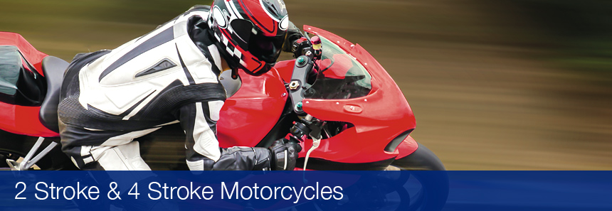 Automotive 2-Stroke and 4-Stroke Motorcycle oils by Gulf Oil Ireland