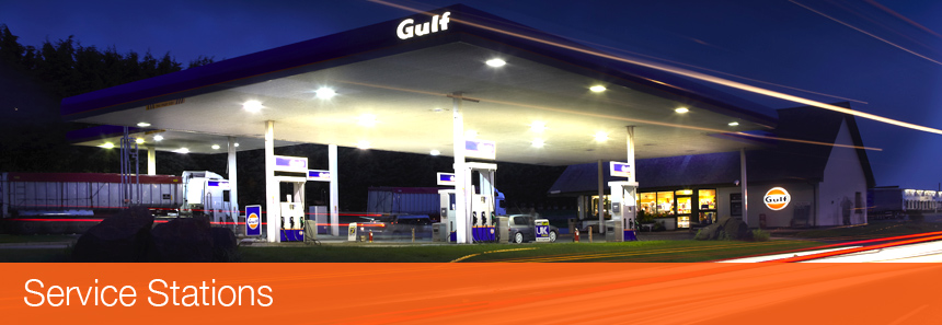 Gulf Service Stations in Ireland