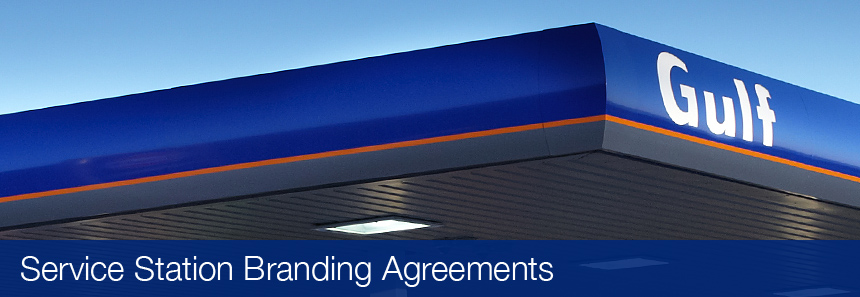 Service Station Branding Agreements