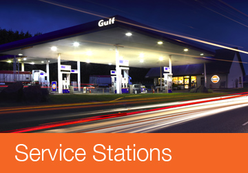 Service Stations Section